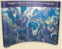 Legal World Interpreting Display